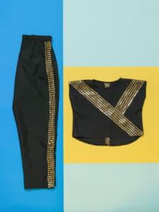 trendy side stripe trousers